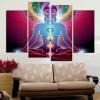 yoga canvas art print