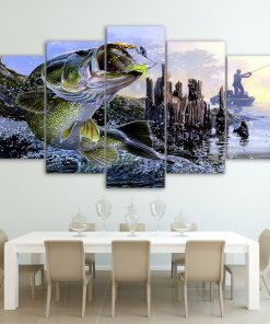 fishing wall art