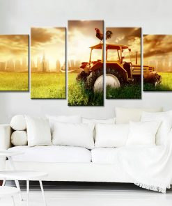 Farmer Canvas Print Wall Art Home Decor